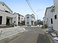 淵野辺本町5丁目 全9棟開発現場 カースペース2台 日当たり良好 吹き抜け 床暖房 ユニバーサル1課