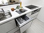 参考プラン(キッチン)毎日使うキッチンは、手入れしやすく収納力もたっぷり!