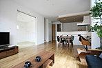 全棟18帖以上リビング+4つのプランで各邸個性的で快適に過ごせるよう設計しました。
