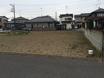 (現地写真 平成27年3月撮影)区画整理地内の開放感のある立地です