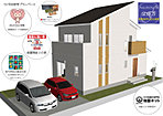10号地参考プランパース及び標準仕様説明、土地・建物保証説明。