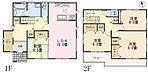 【企画住宅 No.45】 間取図(図面と現況に相違がある場合には現況有姿とします)
