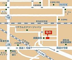 大宝東小学校区(サンフルタウン栗東はちや):案内図