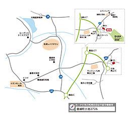 【アネシス】注目の益城エリア、いよいよ残り1区画となりました。:交通図