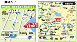 ストークガーデン東野添II:案内図