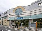 小田急線「祖師ヶ谷大蔵」駅・・距離約1760m(徒歩22分)