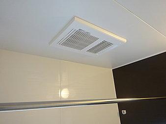 浴室乾燥機は雨の日に便利です!
