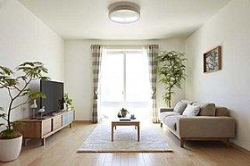 LDKから浴室まで生活空間ほぼ100%をカバーする全館床暖房