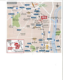 JA宅地分譲(東浦取手):交通図