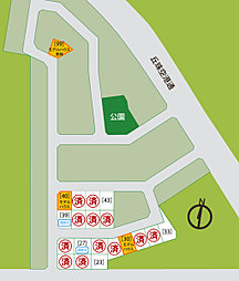 【三愛地所】 栄町東 [NO30モデル] 分譲中:案内図