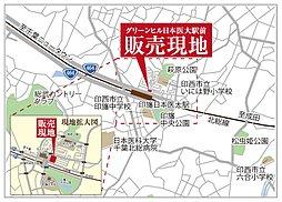 グリーンヒル日本医大駅前:案内図