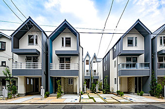 完成予想図(外観) 都会の喧騒から一歩離れた静かな街に「メルディア横濱鶴見」が誕生します
