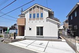 3号地 可愛らしいデザインの一邸。駐車場広々!