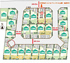 近鉄田原本駅まで徒歩8分(約640m)です!そのほか、スーパーまで徒歩7分(約560m)、幼稚園まで徒歩11分(約880m)、小学校まで徒歩13分(約1040m)と、お買い物や通勤・通学に便利です!
