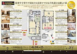 グランドヒルシリーズキングスガーデン北習志野XI 駅近5分 南道路中心の第三期販売開始