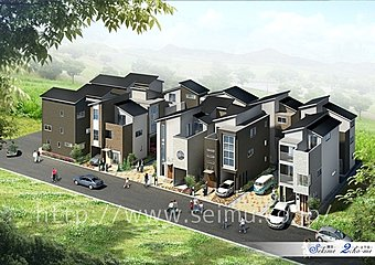 全14区画の新しい街並みが完成します!