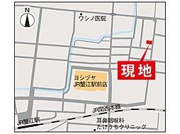 グリーンパークJR蟹江駅北I:案内図