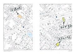 南上町 カメヤの分譲:交通図