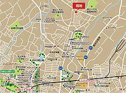 残り2区画 【LIFE DESIGN Village ~はぐみの杜~】  建築件付宅地分譲:案内図