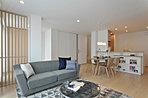 モデルハウスのLDKです。柔らかい雰囲気で心地よい空間となっております。全館空調システム搭載で、年中快適&清潔な暮らしを実現★