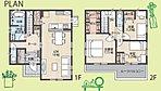 4人家族様向けの間取りで、収納たっぷり&各居室ゆったり設計です