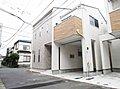 デザイナーズ住宅・高田東1丁目新築分譲住宅全3棟・全棟二面道路で陽当り・通風良好