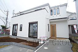 千葉市若葉区若松町 新築一戸建て カースペースが2台分あるお家