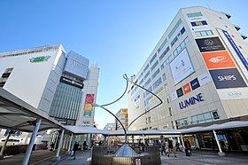 大型商業施設が集まる町田には1駅3分