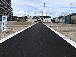 前面道路(平成30年9月9日撮影)