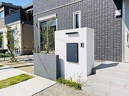 外観イメージパース1 ※外観イラストは実際の設計図面を元に描き起こしたイメージです。 周辺の建物、フェンス、電線等は描かれておりません。
