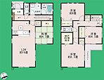 間取り 全居室2面採光採用+収納スペース付き♪