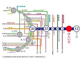 秋葉原駅まで36分