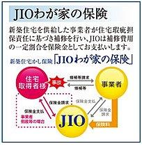 JIOとは、新築住宅を購入する消費者を守る保険です。