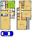 全居室収納ありですよ!沢山収納できて、綺麗な室内を保てますね!