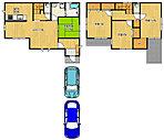 駐車2台可能区画も有りますので、セカンドカーも安心ですね♪