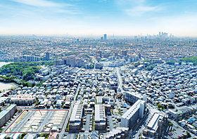 全33区画の新しい街並み、ステータスを醸し出す高台の好立地。