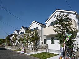 ACCESS二子玉川&成城学園前 全棟南道路~太陽の陽射しが降...