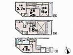 ■さいたま新都心駅徒歩12分の好立地■車通りの少ない閑静な住宅街に立地■床暖房、制震システム標準装備■ロフト付床暖房、食器洗浄機付のデザイナーズ住宅。施工例をご覧いただける場所もございますので合わせて是非ご覧下さい。(A号棟)、価格4LDK、土地59.12m2、建物面積105.97m2