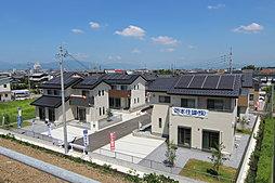【岡本住建】solar eco town大垣万石(家計にやさしく、地震に強い家)の外観