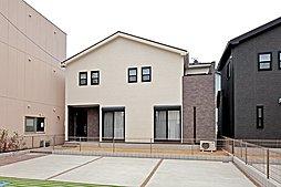 2号地外観完成予想パース図 -和室離れのある家-