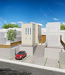 【ユニテハウス】泉区旭丘堤2丁目新築一戸建て 黒松駅まで徒歩4分の外観