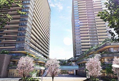 プラウドタワー武蔵小金井クロス