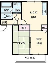 高畑駅 4.9万円