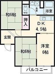 富岡前駅 4.9万円