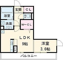 JR中央本線 勝川駅 徒歩4分の賃貸アパート