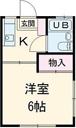 高幡不動駅 2.5万円