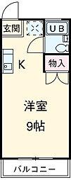植田駅 2.3万円