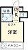 間取り,ワンルーム,面積13m2,賃料3.5万円,JR中央線 武蔵境駅 徒歩13分,,東京都武蔵野市桜堤1丁目