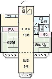 星ヶ丘駅 7.5万円