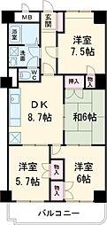 西八王子駅 11.0万円